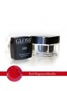 Red - Magenta Metallic 100