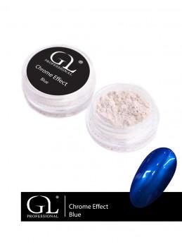 Chrome Effect Blue